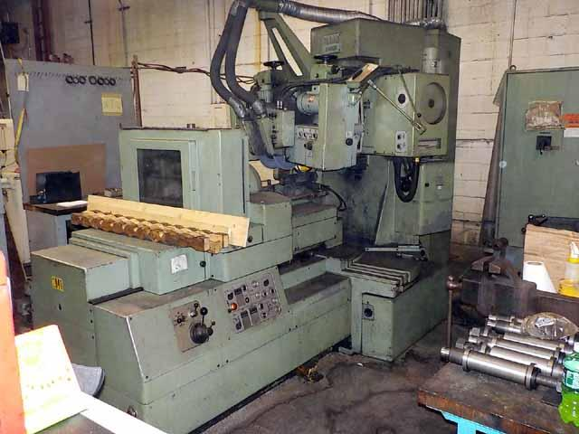 Maag SD-32X Straight Bevel Gear Grinding Machine, 320mm max. dia, 200mm max force, 5-150 teeth, well equipped