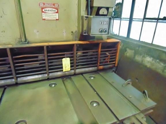 "16' x 1/2""  Pacific 500R16 Hydraulic Squaring Shear"
