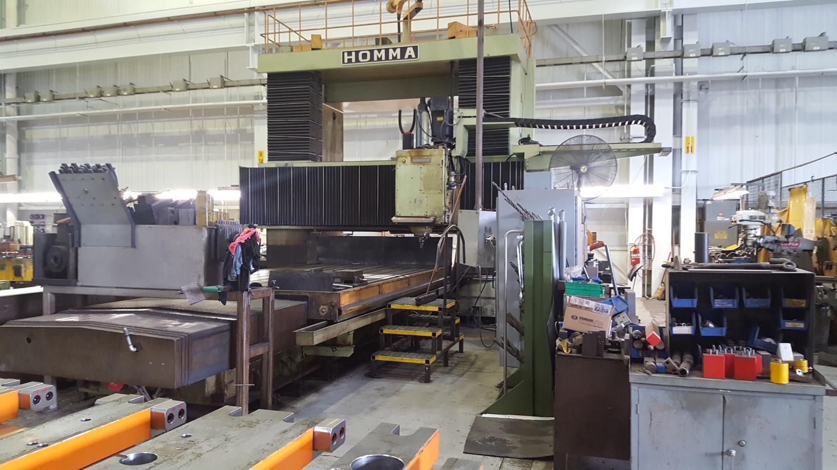 Homma HB-22/40-PM10 CNC Bridge Mill