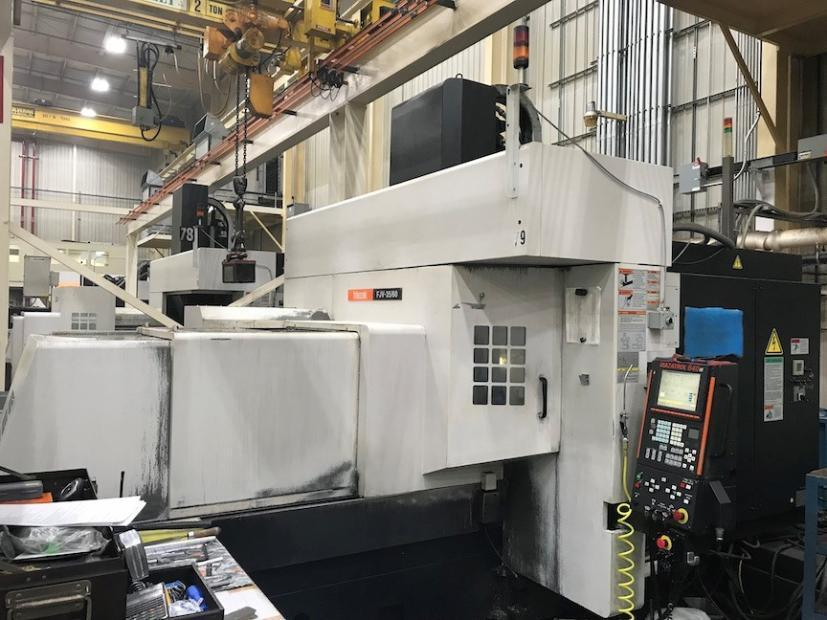 Mazak FJV35/60 CNC Bridge-Style Vertical Machining Center,  Fusion 640M Control, 59