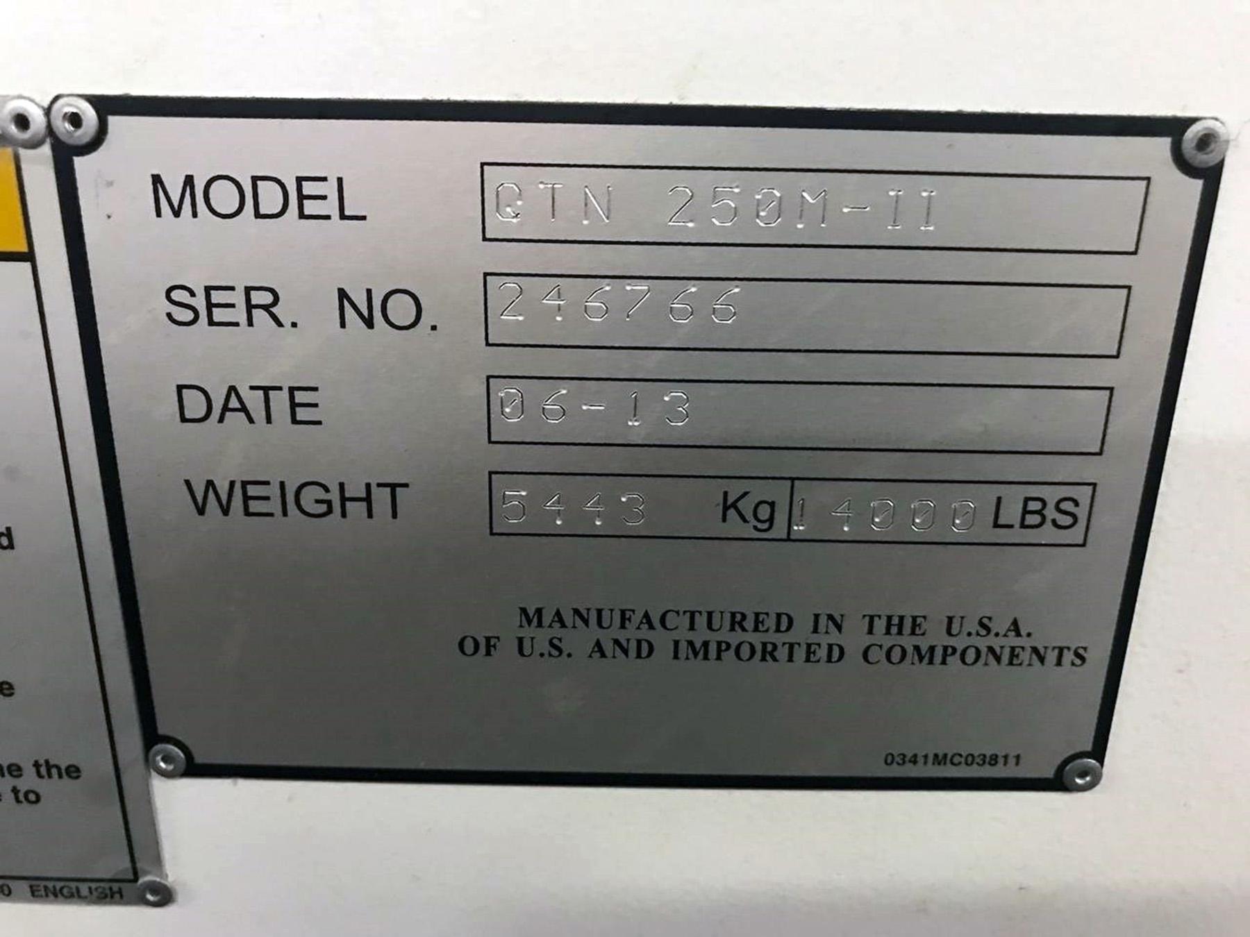 USED, MAZAK QTN 250M-II CNC TURNING CENTER WITH MILLING