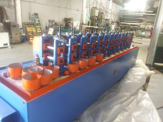"""12 STAND X 1.5"""" YODER MODEL #M1-1/2 ROLLFORMER: STOCK 10545"""