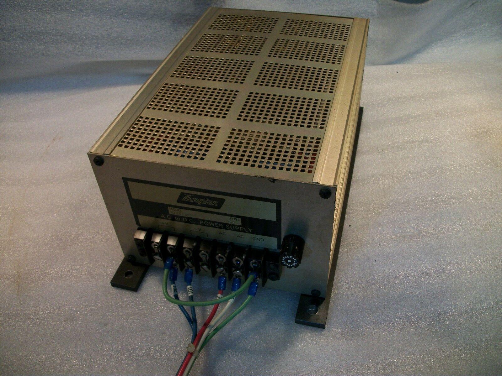 Acopian 24 Volt Power Supply UP24YA700