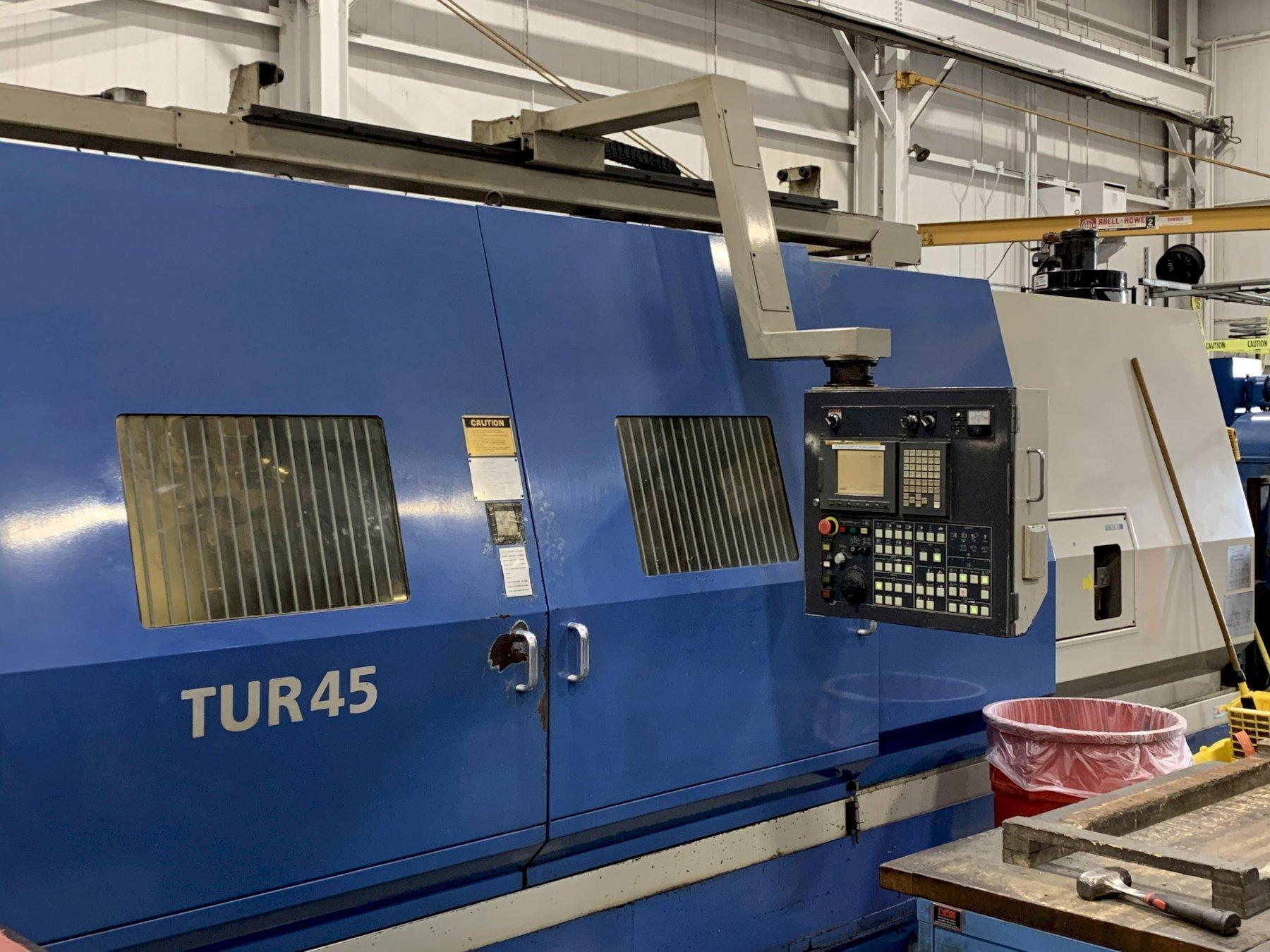 Ikegai Model TUR45/CD3000 CNC Universal Milling and Turning Center