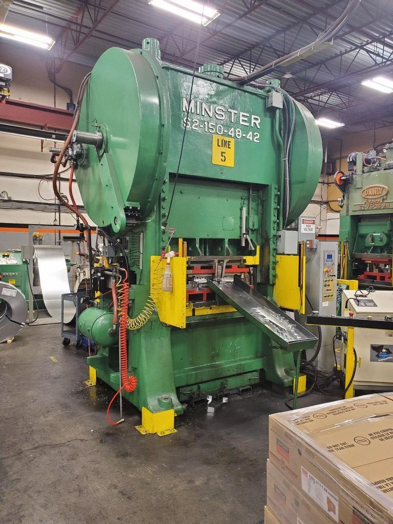 Minster 150 Ton Press