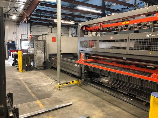 2017 Bystronic Bystar 3015 Dynamic Edition, 10KW Fiber Laser, Bytrans Extended LUL, ByTower FMS System.