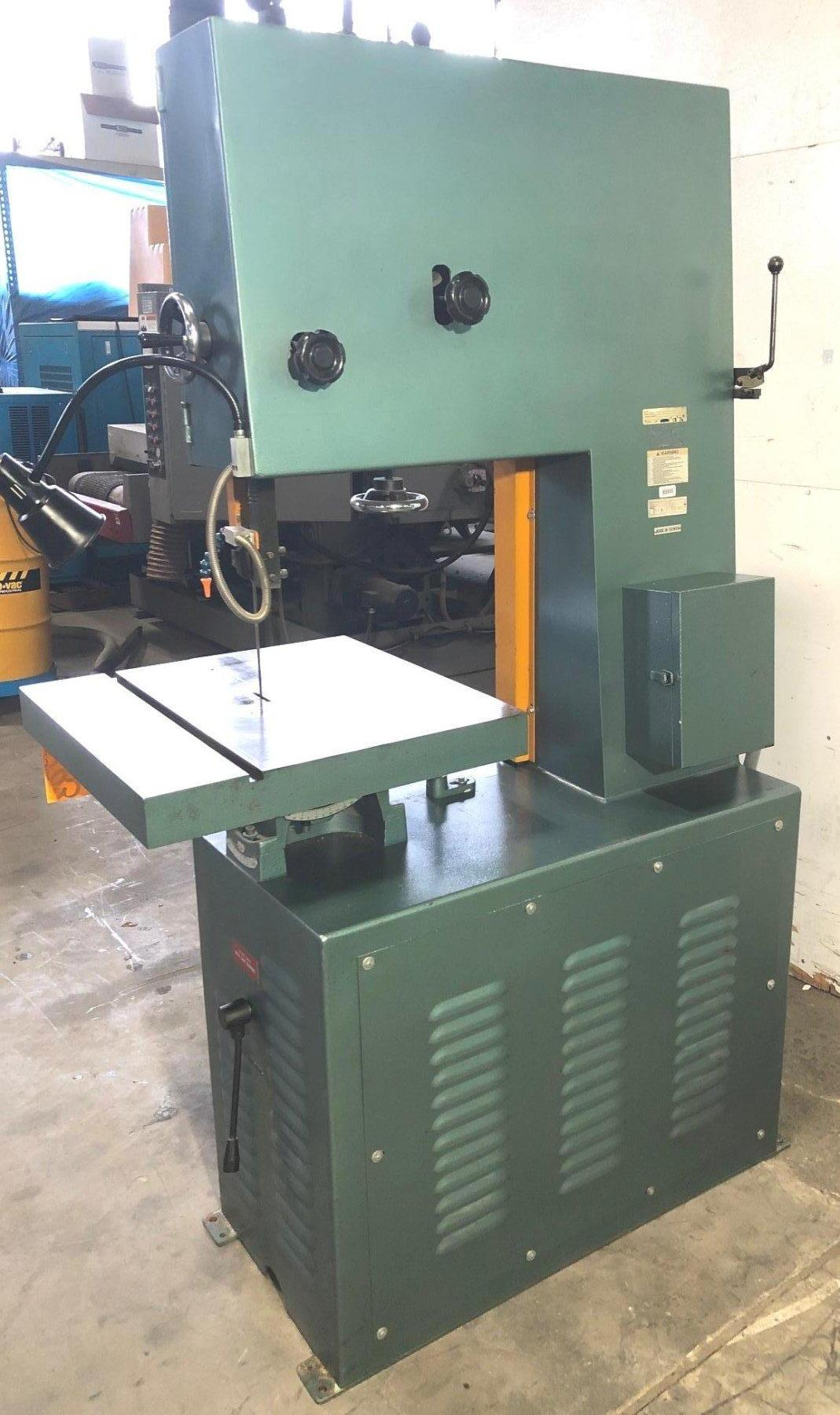 "20"" Wilton Vertical Band Saw, Excellent"