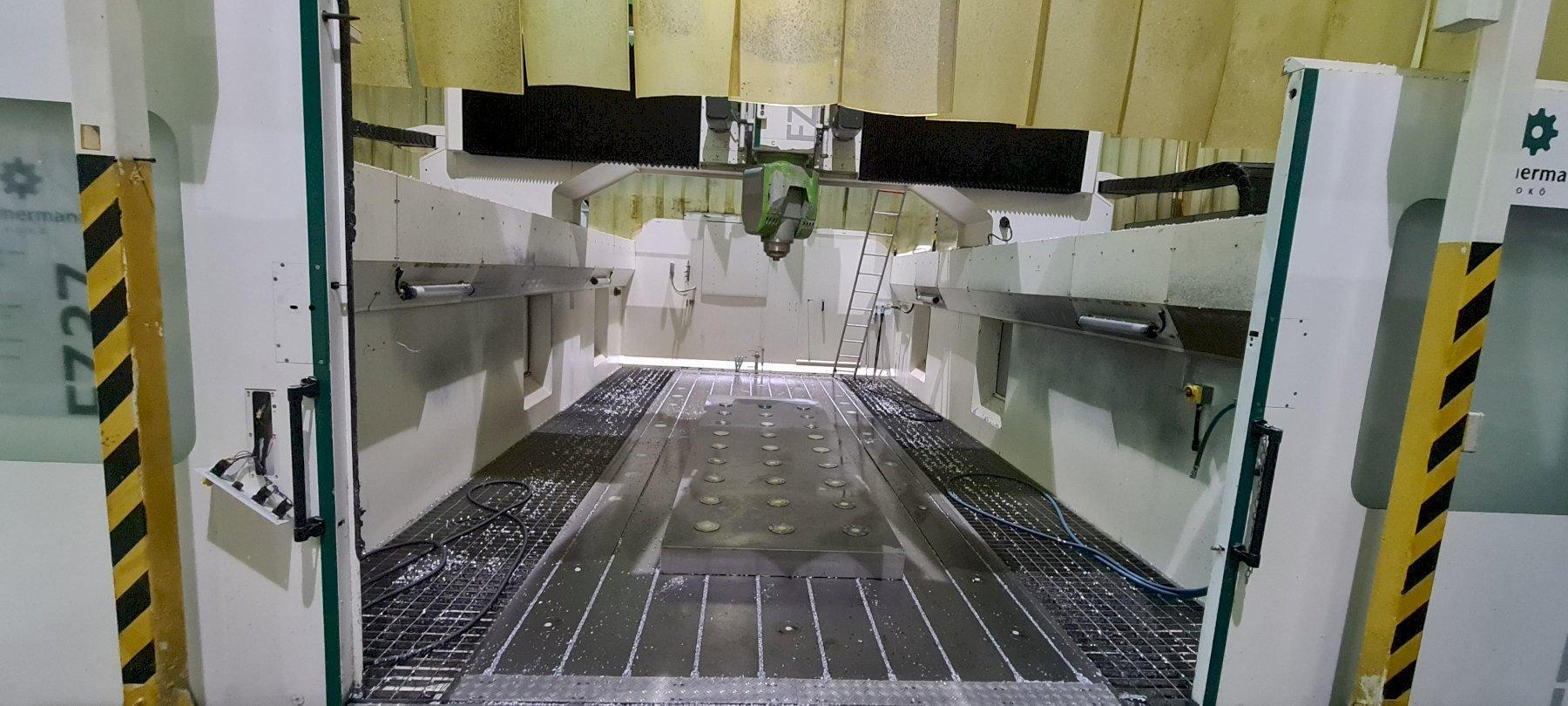 Zimmermann FZ37 5-axis CNC Bridge Mill