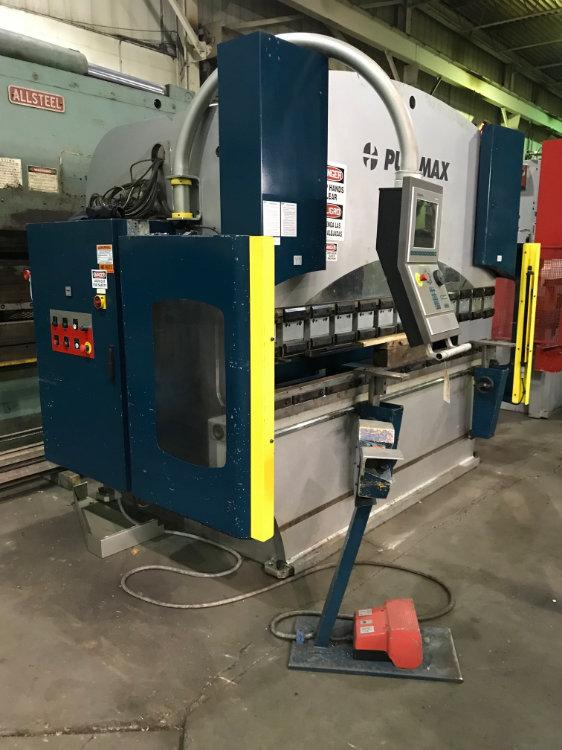 Used PULLMAX / BAYKAL 67 TON HYDRAULIC CNC PRESS BRAKE, Model FORMatic 60, 67 ton x 8', Stock No. 10474