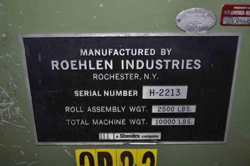 """Embosser, Roehlen, 32"""" Wide"""