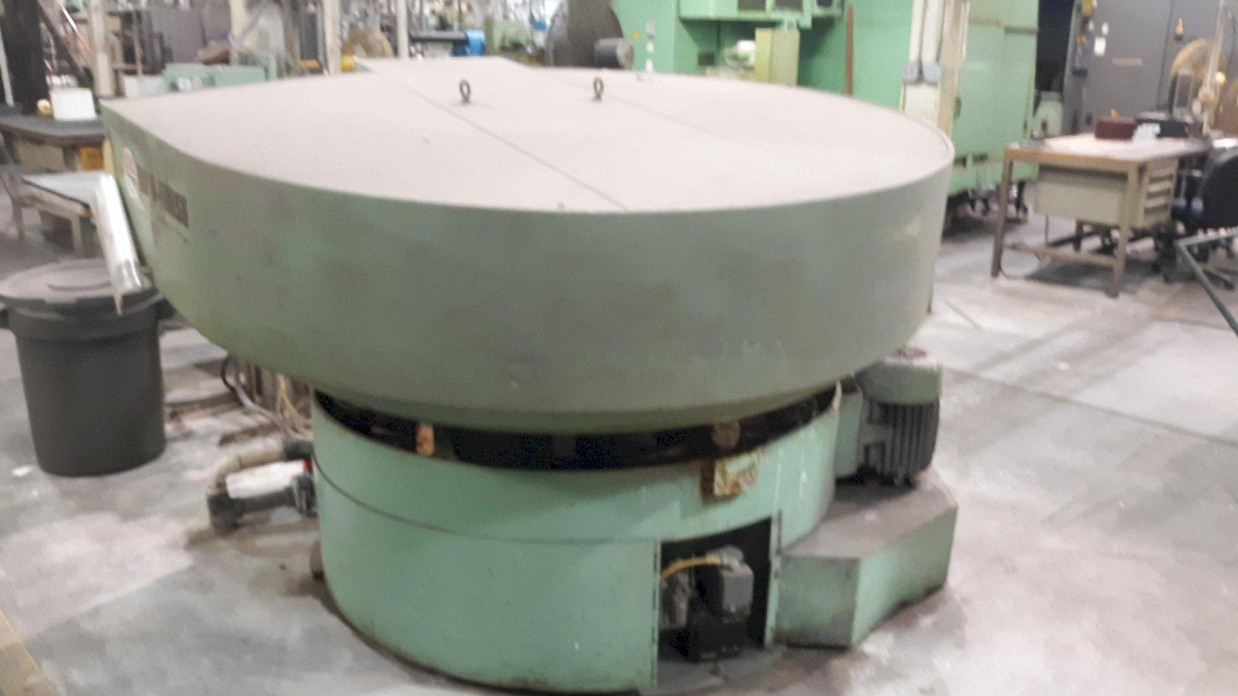 8 CU FT ROTO-FINISH OGM-82OU VIBRATORY BOWL FINISHER : 2145