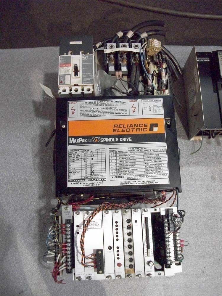 Reliance Electric Spindle Drive Unit MaxPak Plus VS CMI# 3634671-R01 30 HP