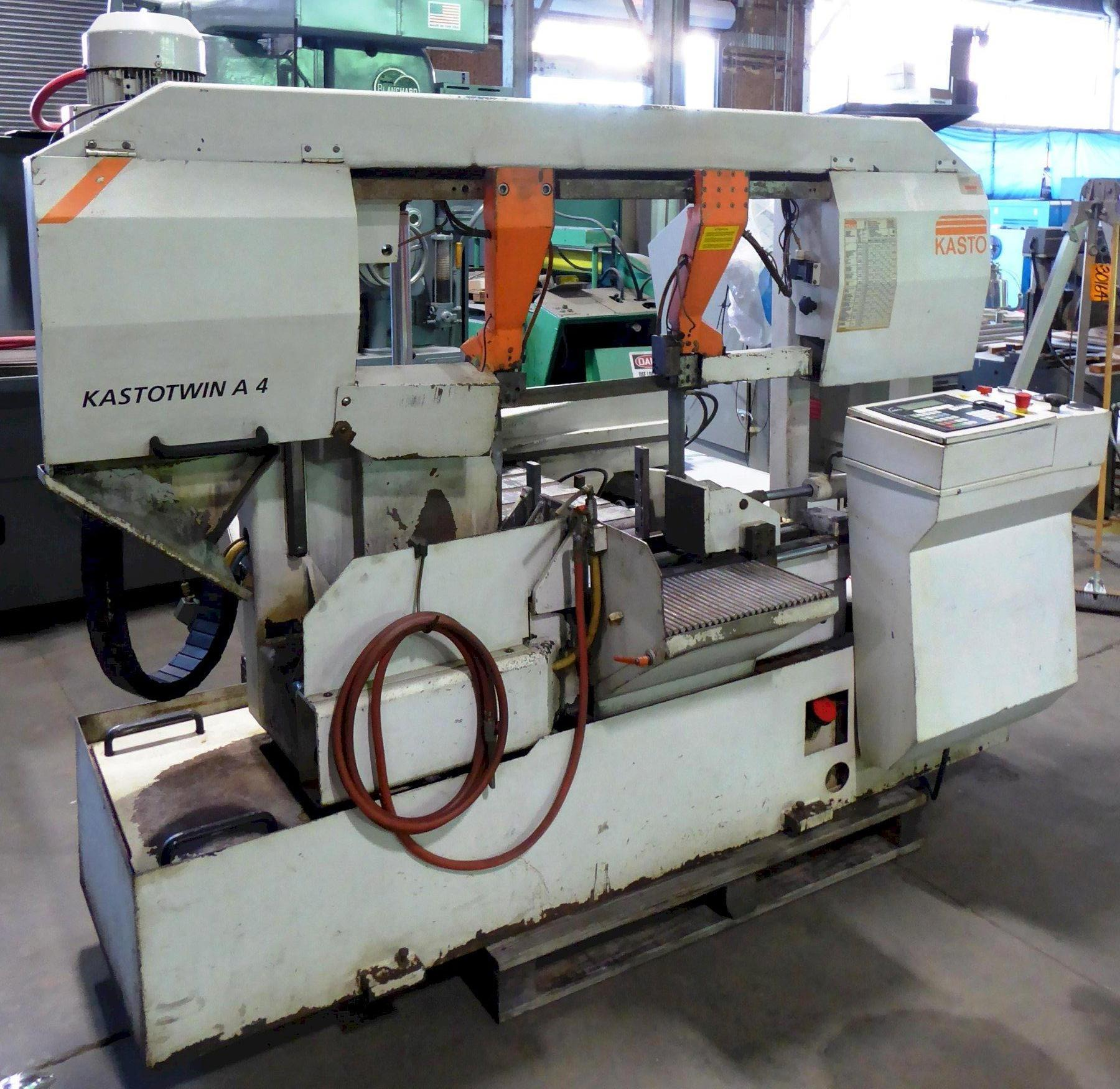 "15"" x 15"" Kasto Horizontal Band Saw KASTOtwin A4 CNC, Auto. Bar Feed, 15-3/4"" Rounds, 2000"