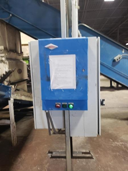 Vecoplan Used Shredder RG 52/100 System with EconoGrind 100hp Granulator