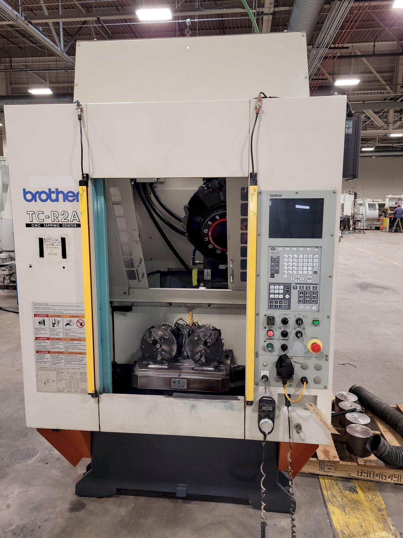 Brother TC-R2A CNC Drilling & Tapping Center