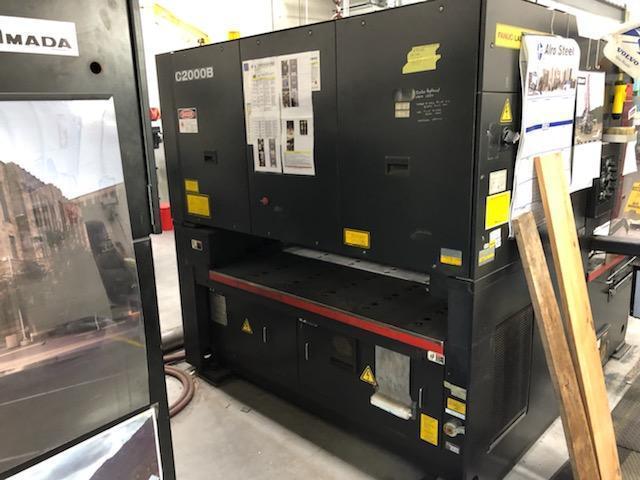 1995 Amada Pulsar 1212, 4x8 2000 Watt Co2 CNC Laser