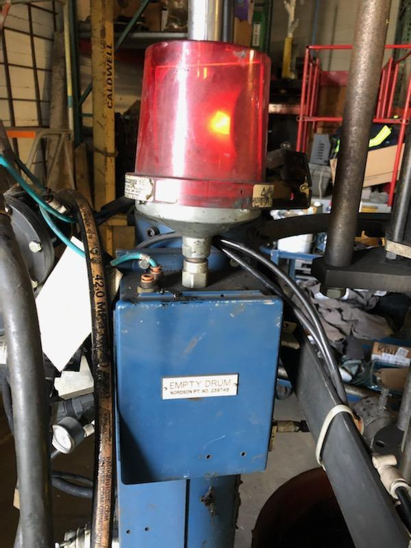 NORDSON 55 GALLON BULK UNLOADER / GREASE PUMP