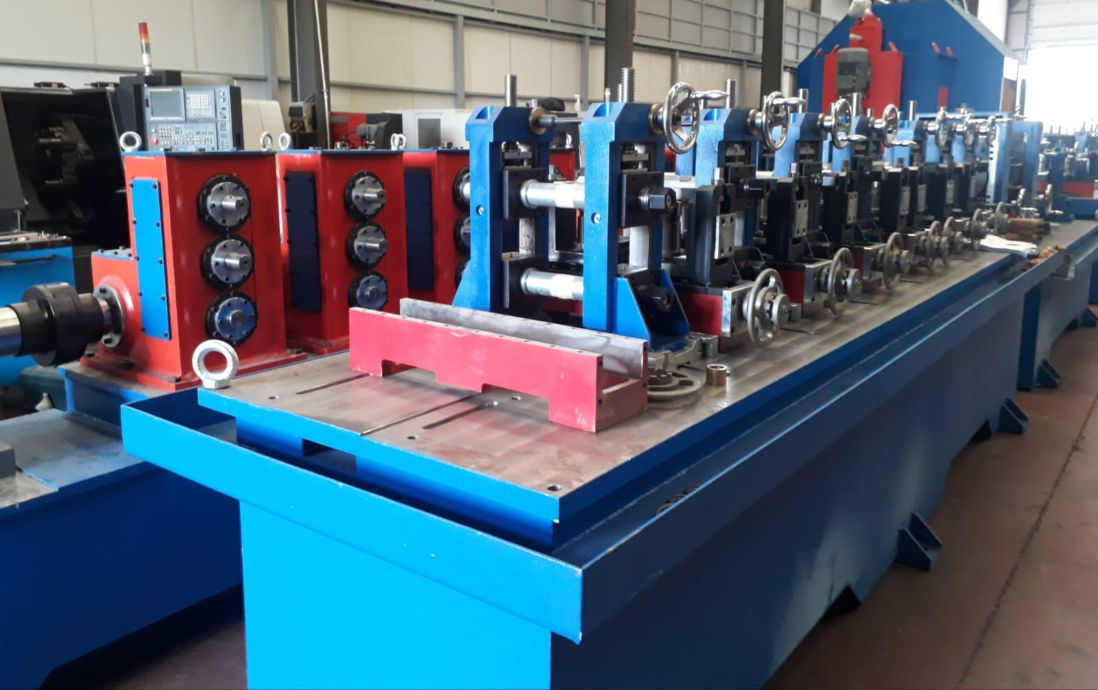 """2"""" (51mm) x 2mm Complete Tube Mill Line (New)"""