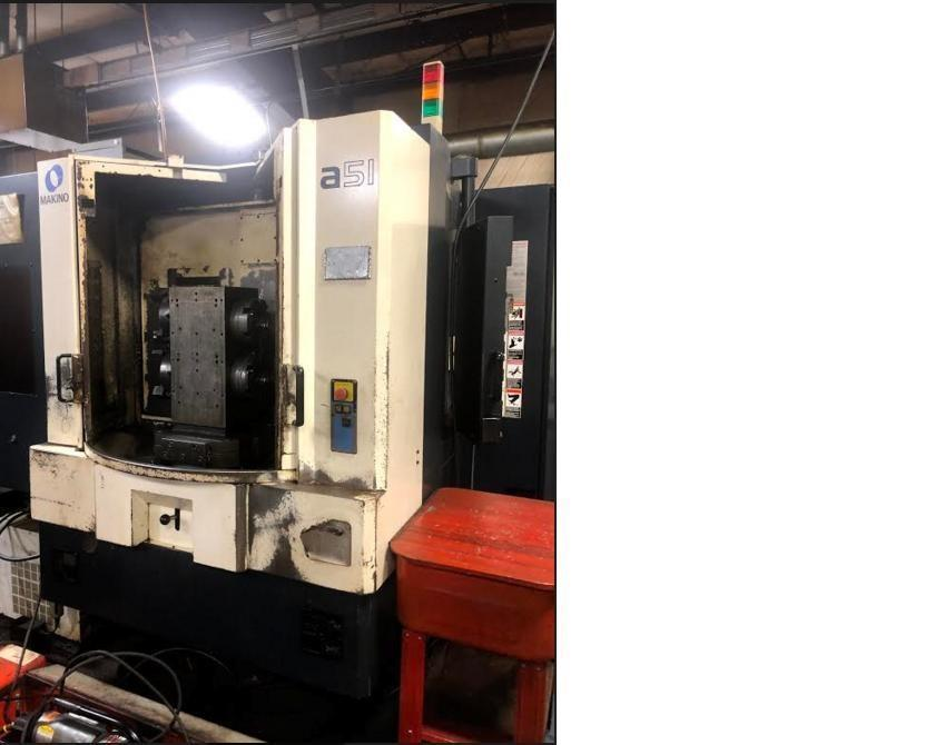 Makino A-51 CNC Horizontal Machining Center (2002)