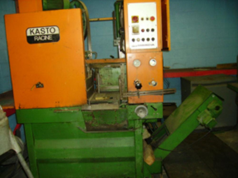 USED KASTO FULLY AUTOMATIC BANDSAW MODEL SSB260VA, 10.25