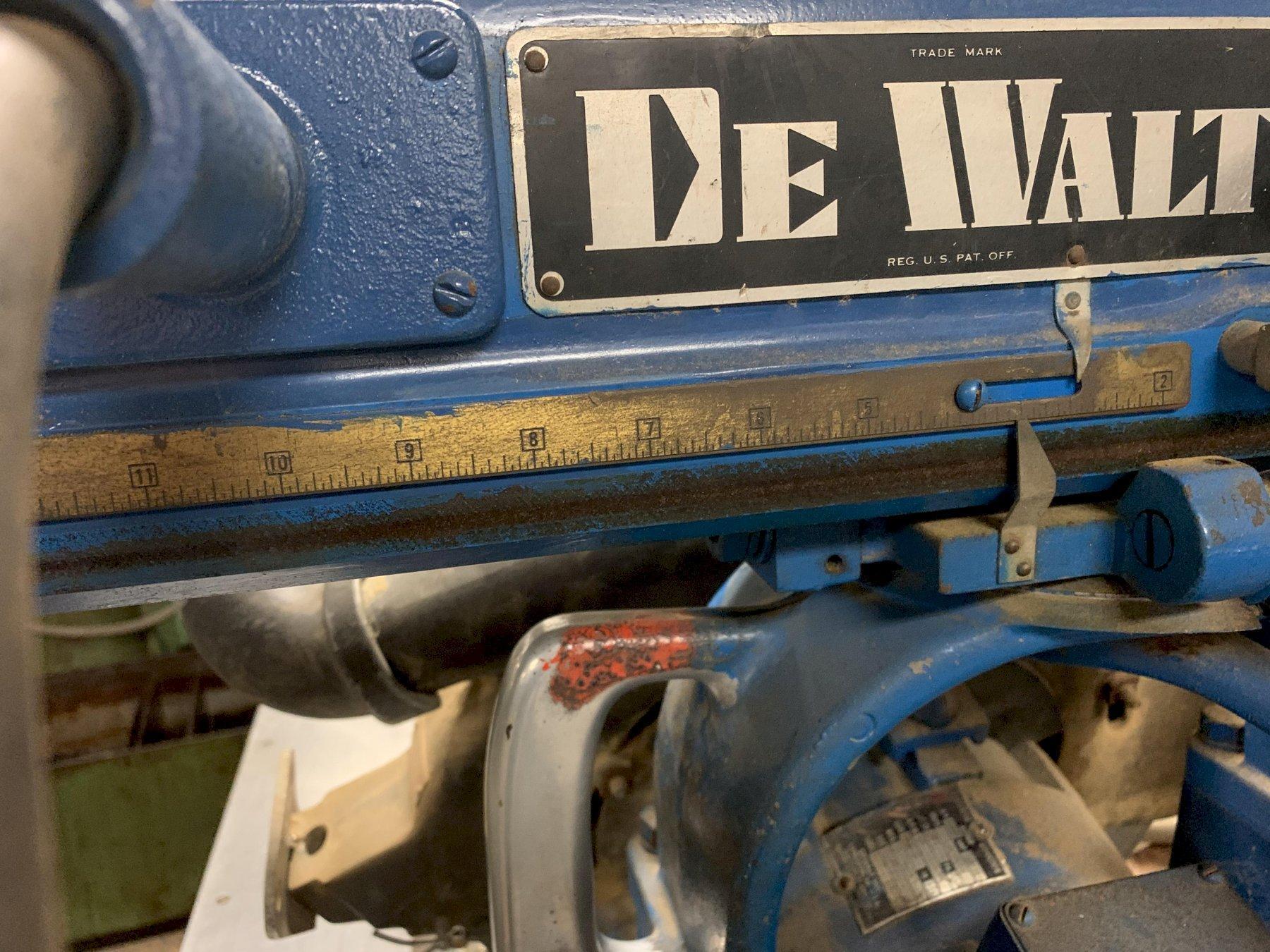 Dewalt Model GE-66 Radial Arm Saw