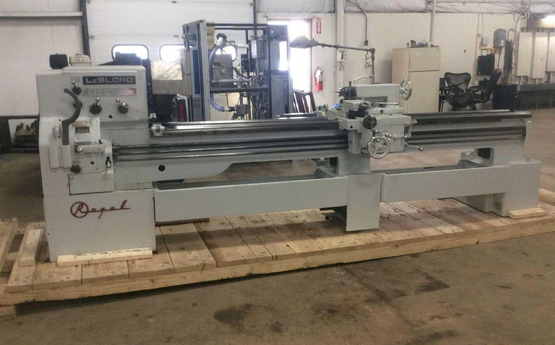 "17"" X 102"" LEBLOND REGAL GAP BED ENGINE LATHE: STOCK #12674"
