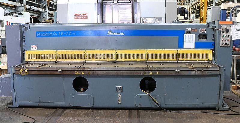 """3/8"""" x 12 ft Niagara Hydraulic Shear Model IF-12-3/8"""