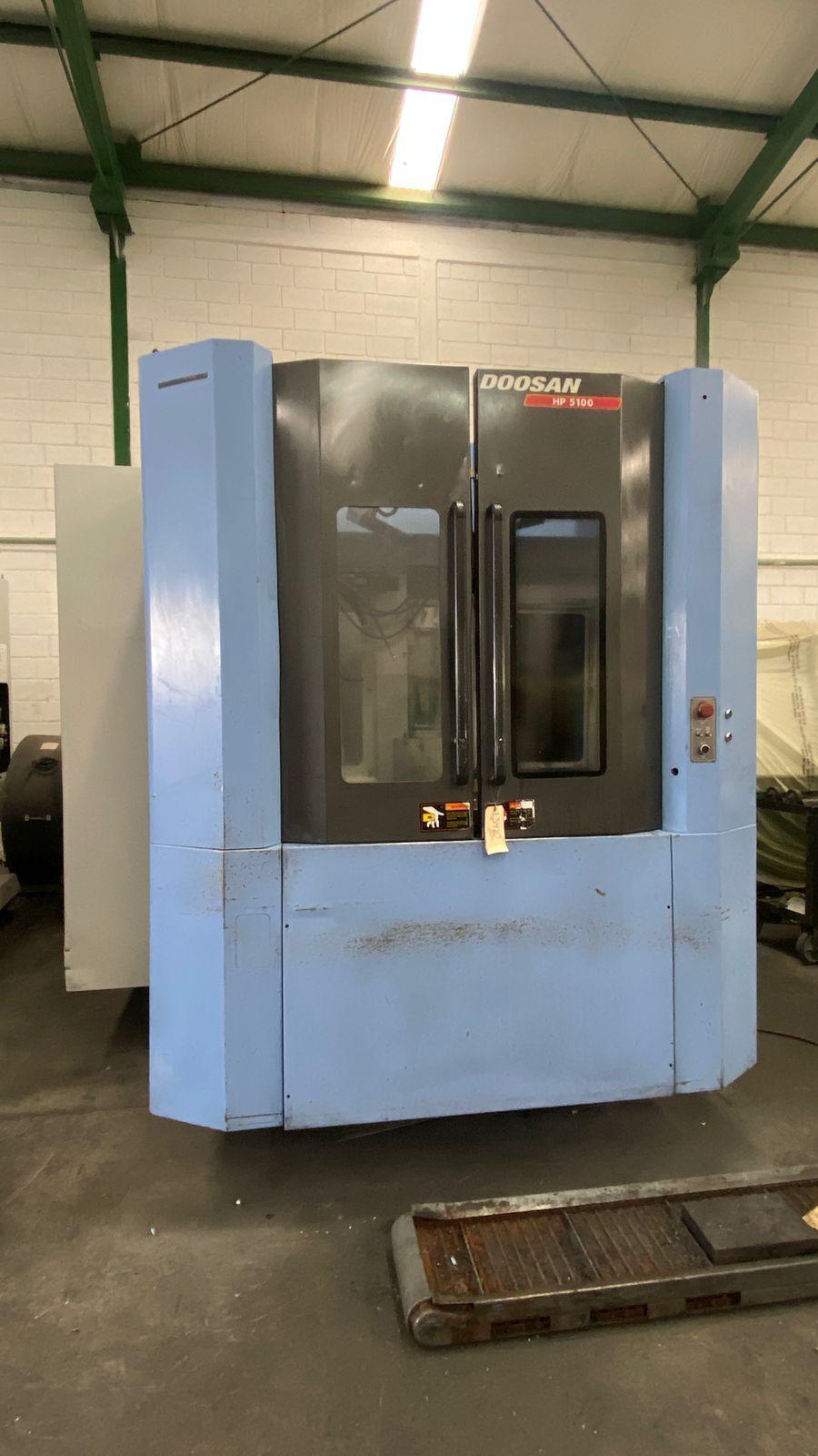 Doosan HP 5100 CNC Horizontal Machining Center
