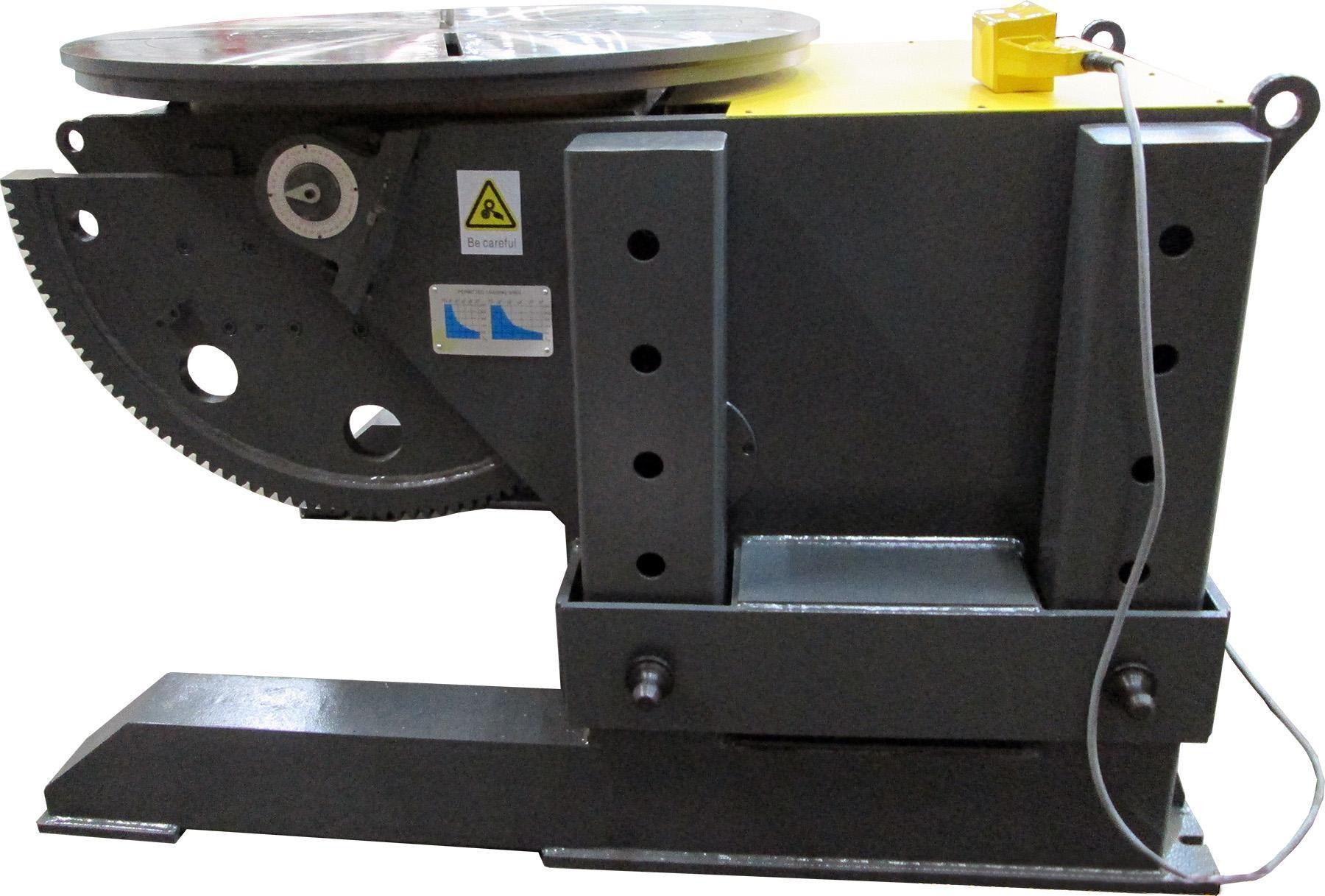 NEW, 3 TON STEADY-WELD MODEL P3-A ADJUSTABLE HEIGHT WELDING POSITIONER