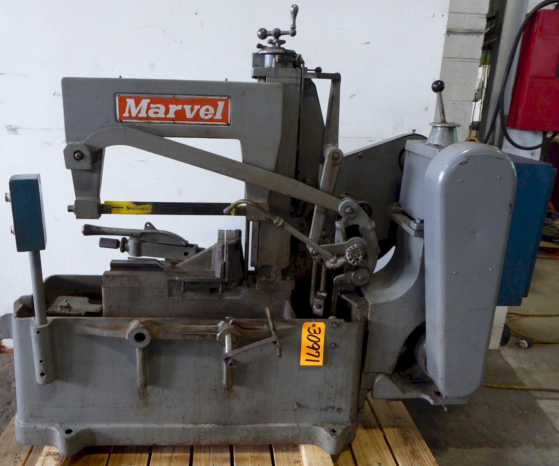"""10"""" x 10"""" Marvel Hack Saw No. 9, 10"""" Rounds, 3 HP, Coolant"""