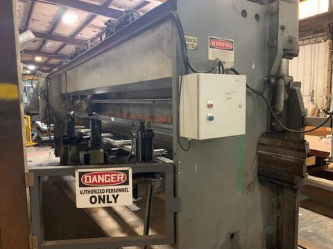 18' x 100 Ton Pacific Hydraulic Press Brake