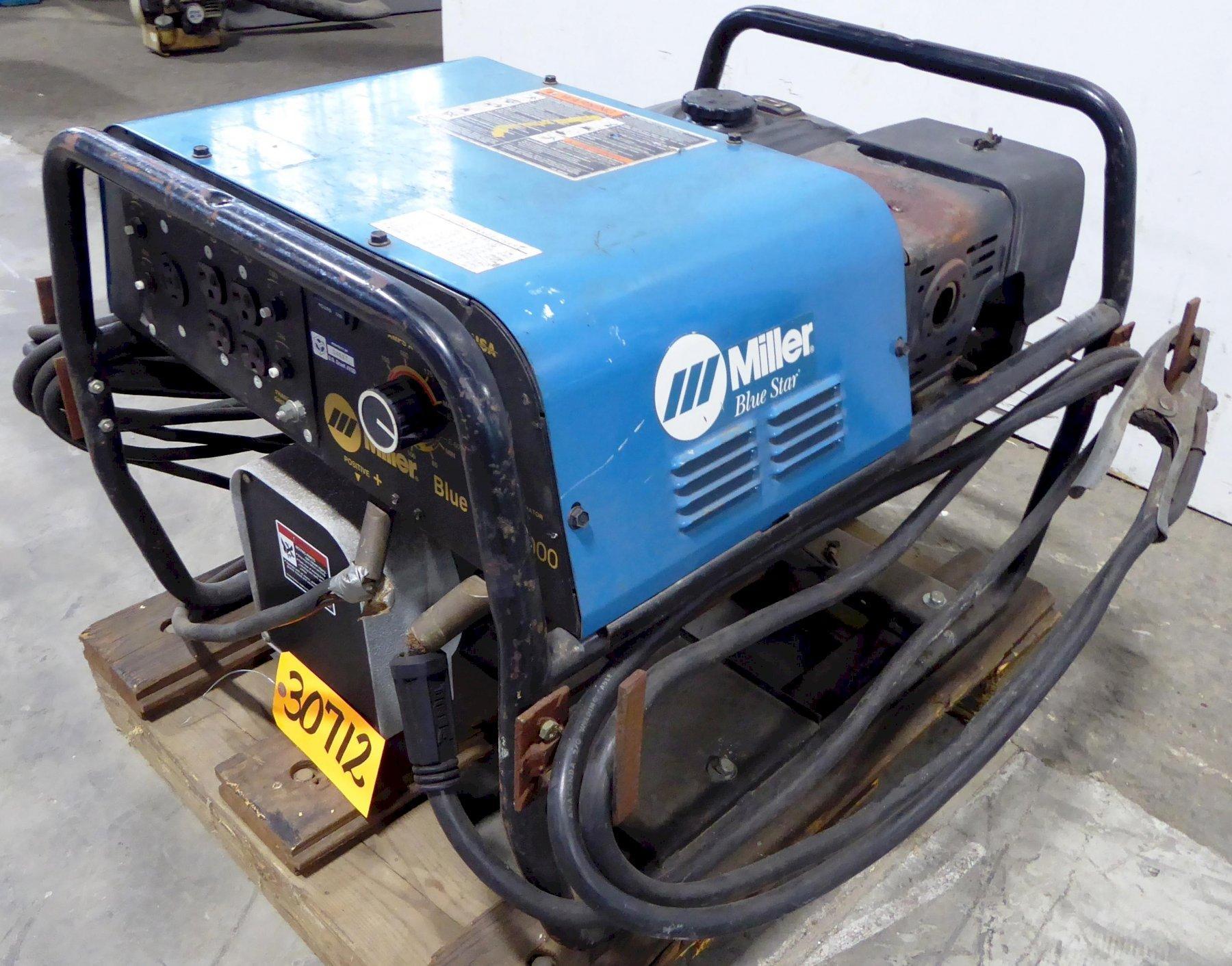 Miller Blue Star 6000, 180 Amp, 6000 Watt, Portable, Gasoline Engine Driven Welding Generator, 13 HP Honda GX390 Engine
