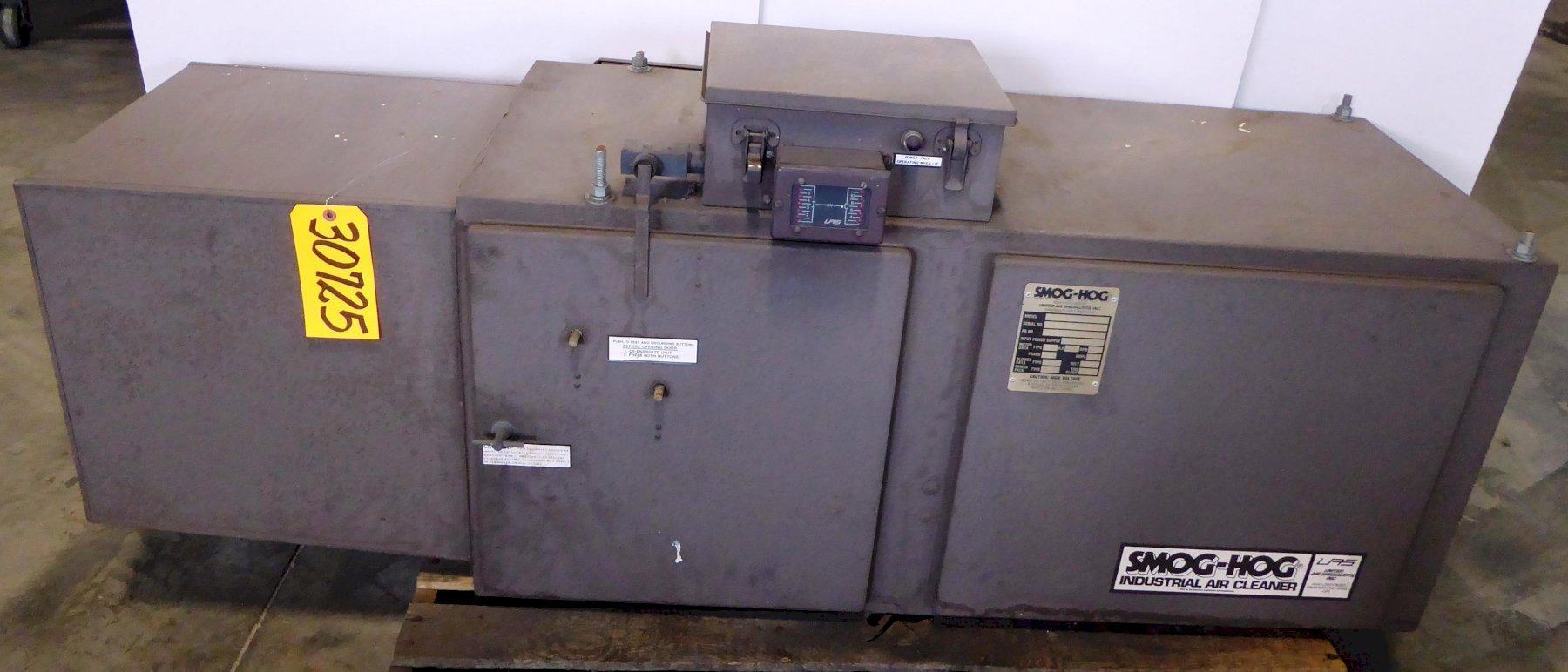 SMOG-HOG Model SH-10-PE-H Smoke, Mist & Dust Collector, 625-1350 CFM, 1 HP, Nice