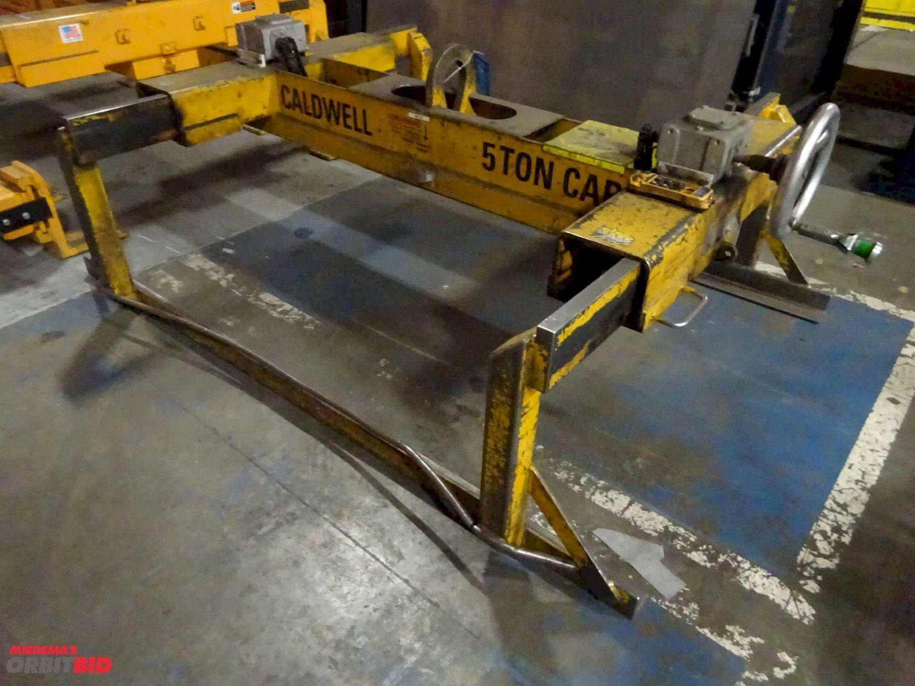10,000 LBS CALDWELL ADJUSTABLE SHEET LIFTER. STOCK # 0613920