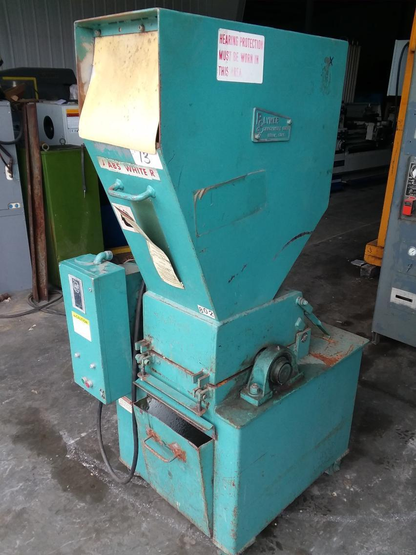 (1) PREOWNED POLYMER DOUBLE ANGLE GRANULATOR, MODEL #: 912SP, S/N: 912SP-71877