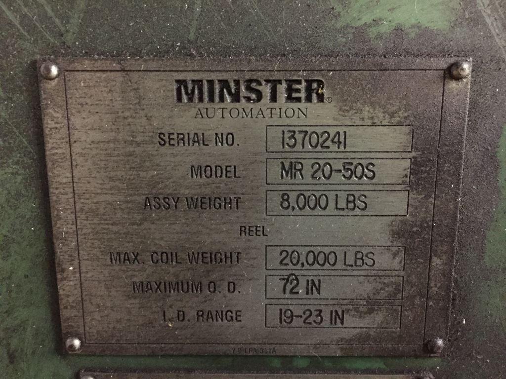 "20,000 LB x 50"" x .040"" Minster Servo Feed Line"