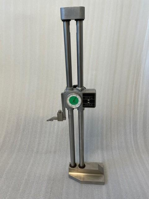 """Double Dual Beam 18"""" Dial Height Gage 0.001"""" Digital Counter"""