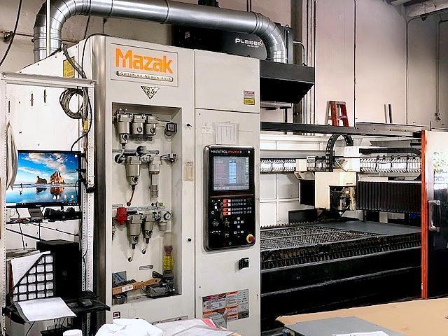 Mazak Optiplex Nexus 3015 2.5 KW (2015) CO2 Laser