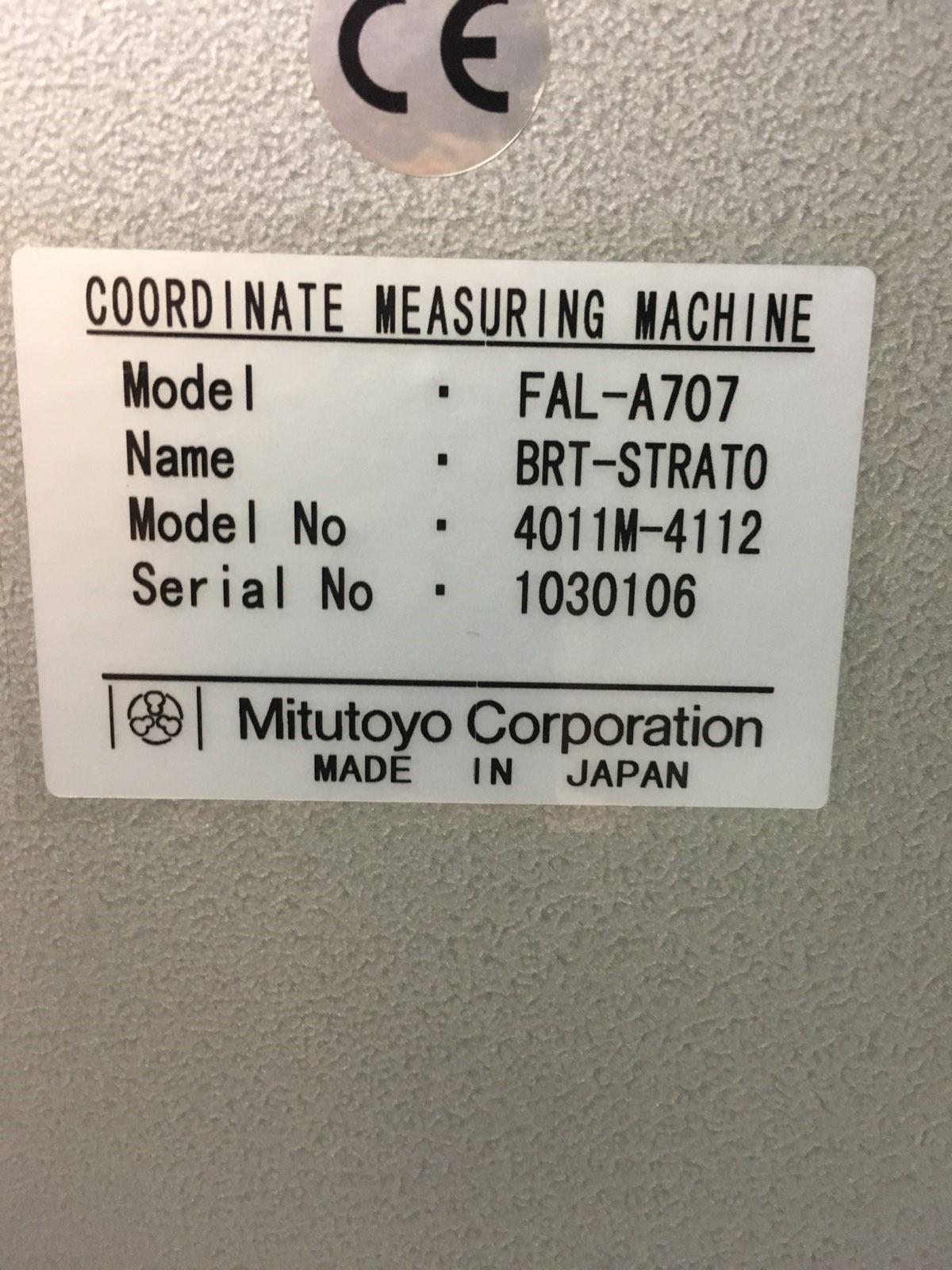 MITUTOYOMitutoyo Bright Strato A707 CNC Coordinate Measuring Machine