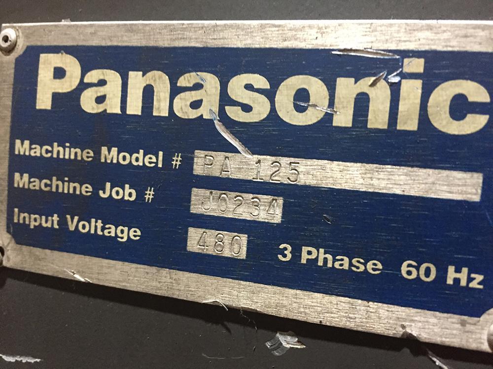 Panasonic VR-006CII Robotic Welding Cell