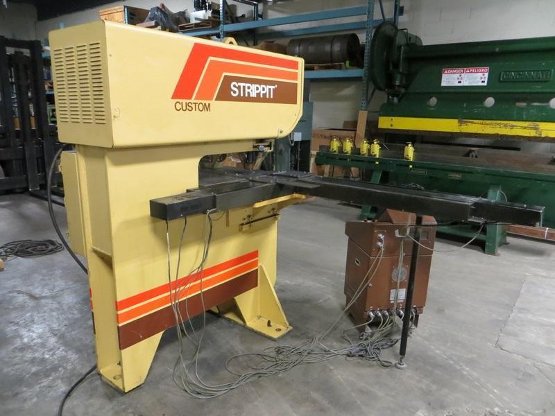 Used 30 Ton, Strippit Punch Model Custom 18/30