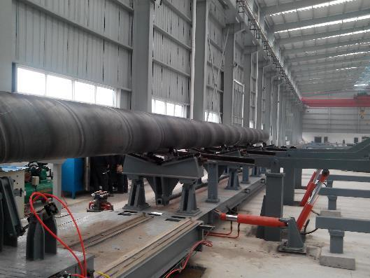"""48"""" (1200mm) x 3/8"""" (10mm) Galaxie H.E. Spiral Pipe Mill (NEW)"""