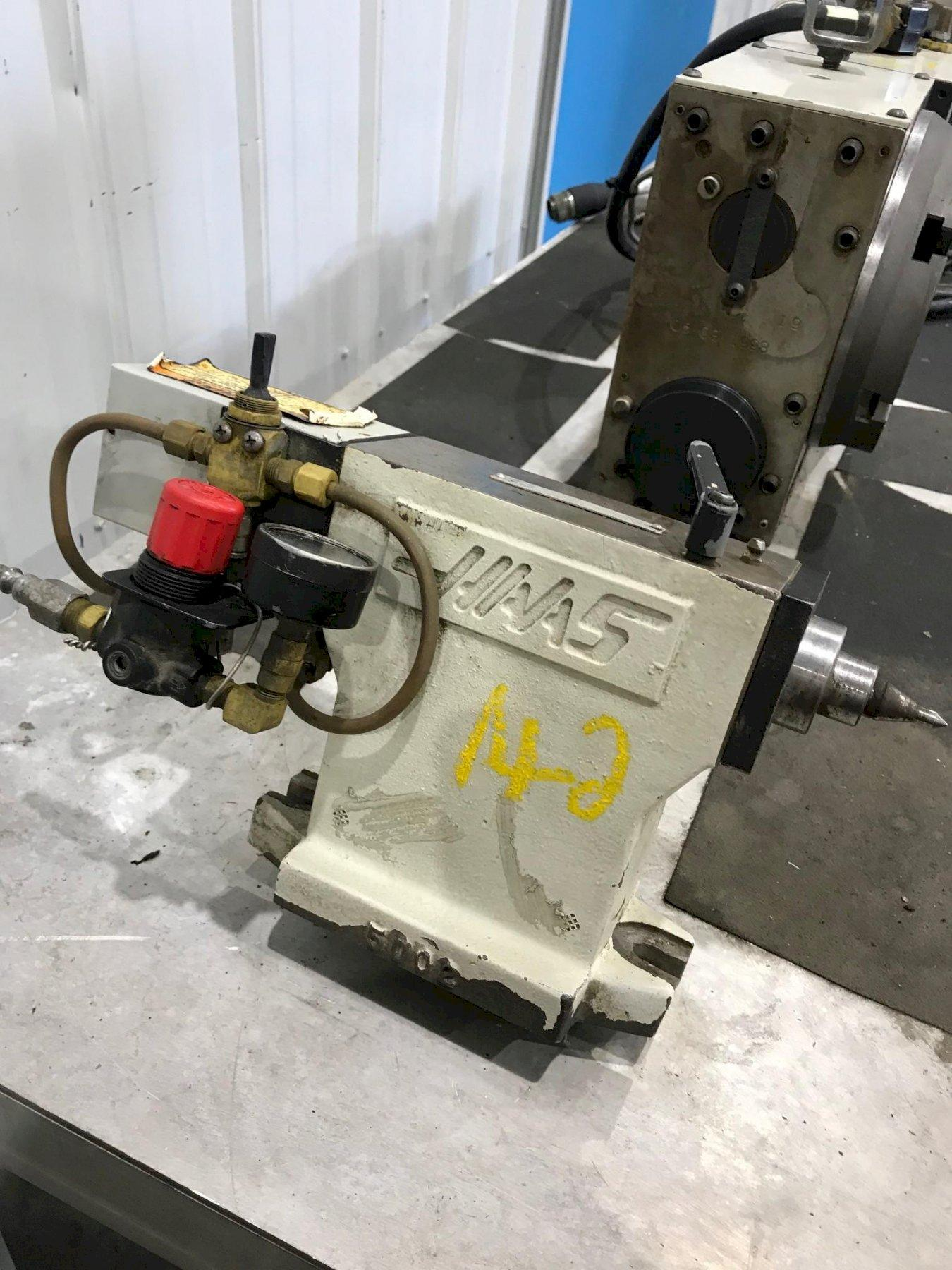8-1/4' HAAS 4 AXIS ROTARY TABLE: STOCK #72827