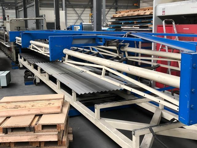 20 Stand Olma Panel Rollforming Line with Stacker