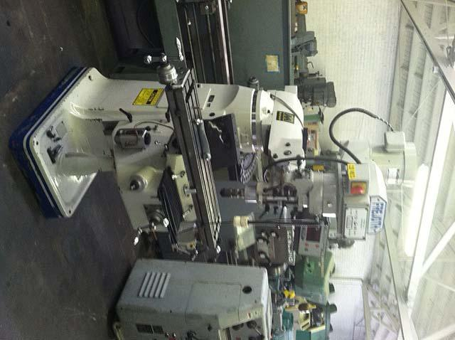 "FREJOTH Bridgeport Style Mill, Model AM-2V, 9"" x 49"" Table, DRO, Power Feed, 3 HP Variable Speed, 4200 RPM, 2005."