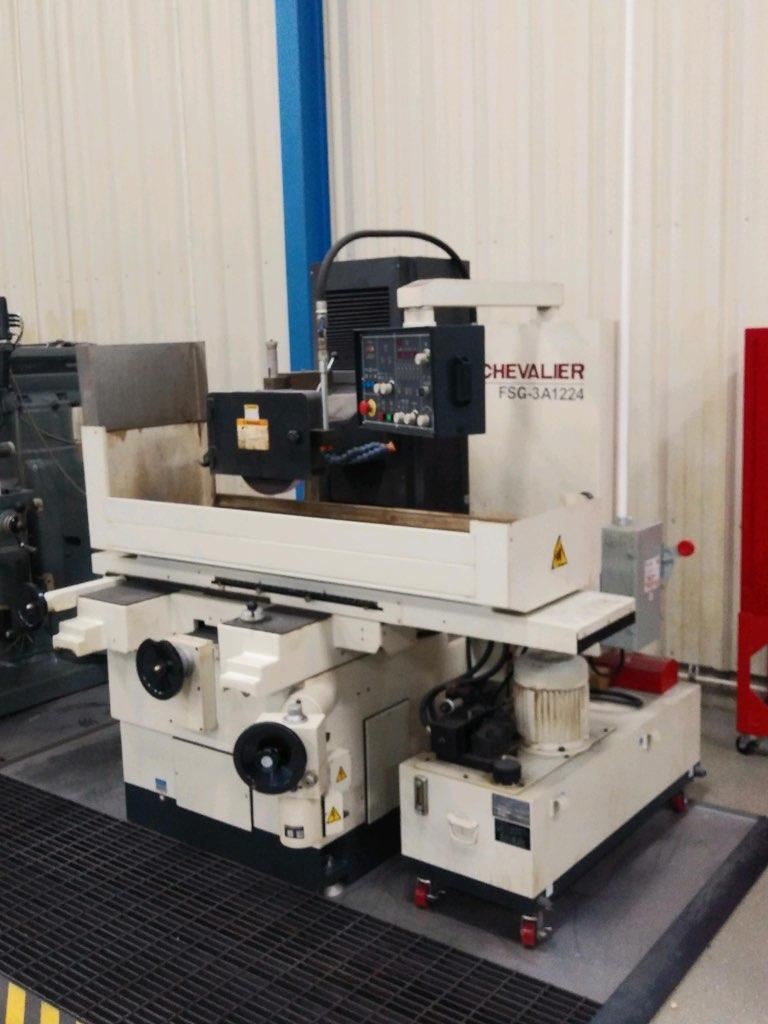 """12"""" X 24"""" CHEVALIER MODEL FSG-3A1224 HORIZONTAL SURFACE GRINDER: STOCK #14048"""