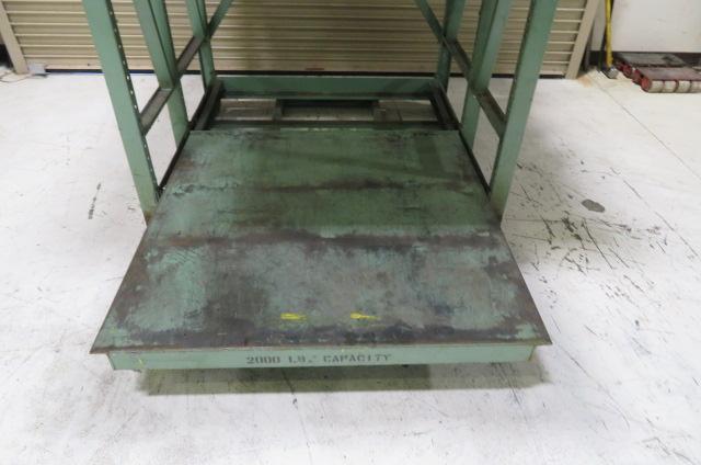 Mold Storage Rack, Used, 2000 lb capacity,