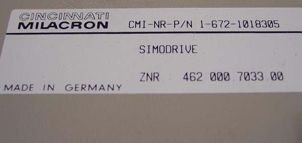 Siemens Regen Resistor 1-672-1018305