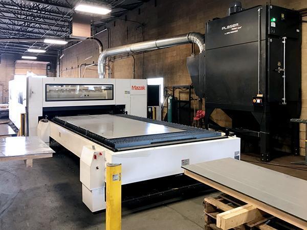 4 KW CO2 Mazak Laser Cutting Machine Optiplex 4020 - 6 ft x 12 ft