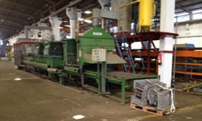 """57""""W., 16""""H., 57""""L., RIPOCHE, ROLLER HEARTH ANNEALING FURNACE, 3 ZONE   Our stock number: 113160"""